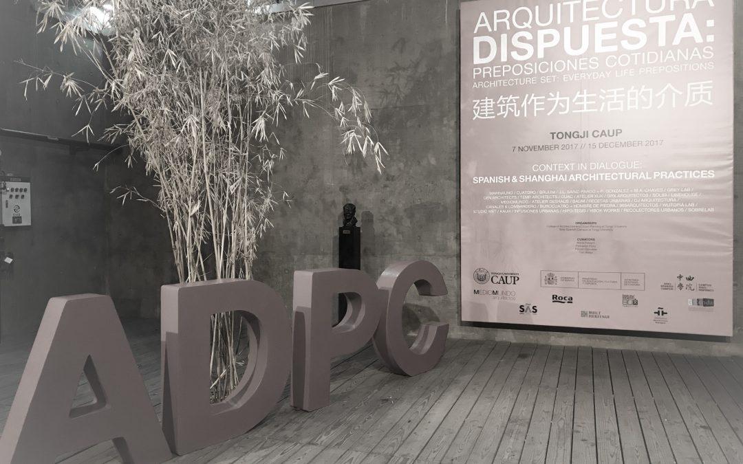 SHANGHAI – ARQUITECTURA DISPUESTA
