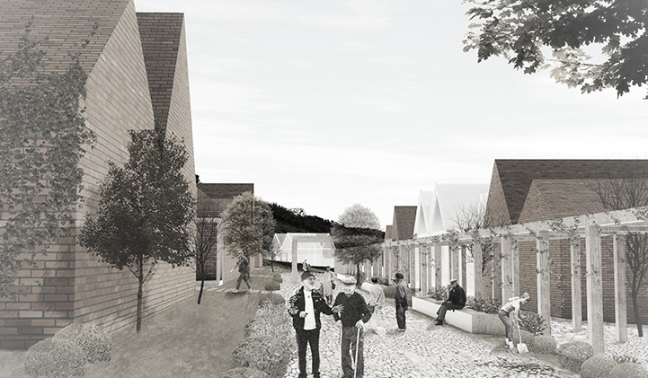 COMPETITION –  Residential complex for elderly people