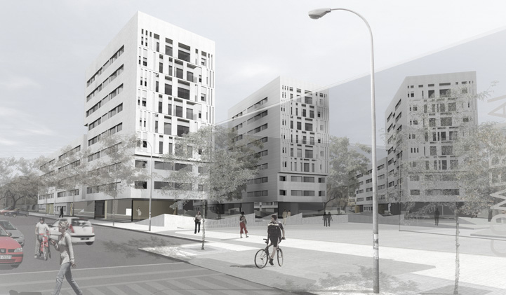 COMPETITION – 220 Council Flats in Regiones Devastadas