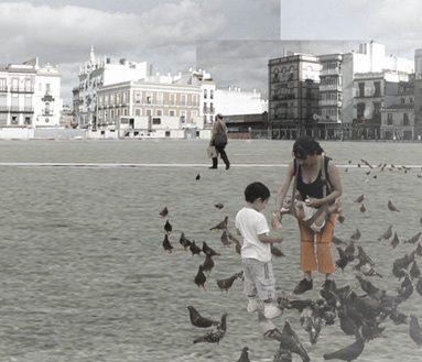 COMPETITION – 'La Encarnación' Square urban design, Museum and Market