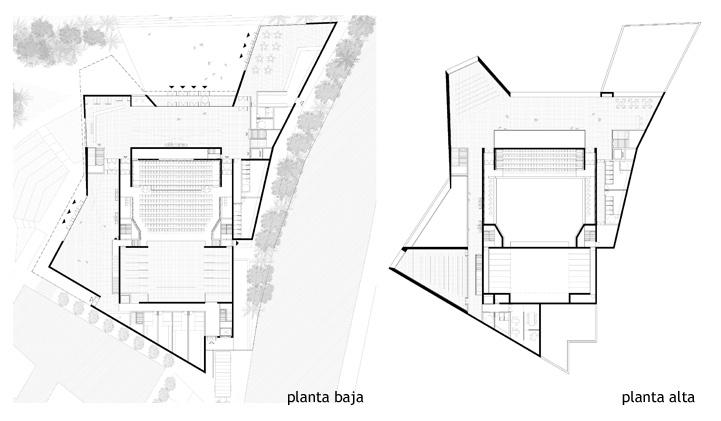3_mediomundo arq_TeatroAlhamaMurcia_plantas